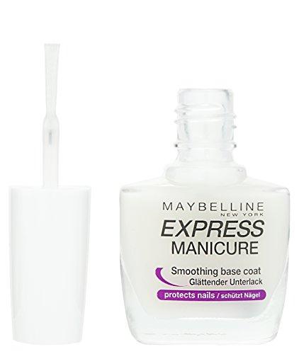 Maybelline New York Make-Up Nailpolish Express Manicure Nagellack Base Coat Repair Fluid / Glättender Unterlack zum Schutz der Nägel, 1 x 10 ml - 2