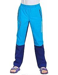 emansmoer Enfants Outdoor Zip Off Pantalon Filles Garçons Léger Respirant Quick Dry Sport Pantalon Marche Randonnée
