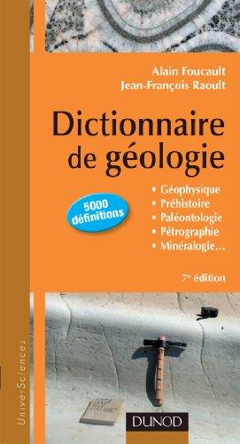 Dictionnaire de Gologie - 7e dition
