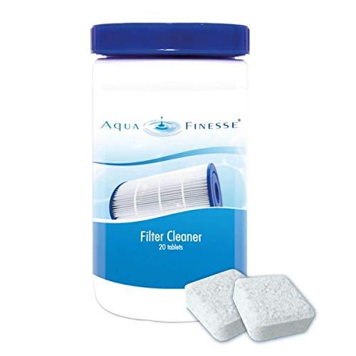 AquaFinesse - Filter Cleaner - Pastilles nettoyantes pour Filtre de Spa
