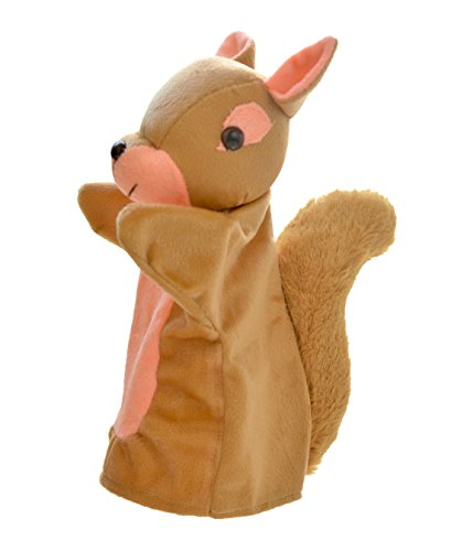 Cuddly Toys Squirrel Storytelling Hand Puppet (10 inch)