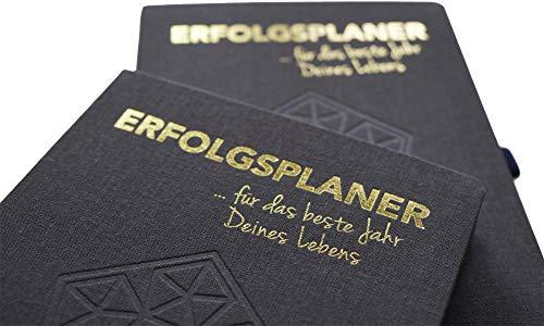ERFOLGSPLANER - für das beste Jahr Deines Lebens von Steffen Kirchner - Terminkalender mit Wochenplaner - Organizer - Wochenkalender - Kalendarium - Erfolgsjournal - Organizer - Planer für mehr Fokus - Jahre Leben