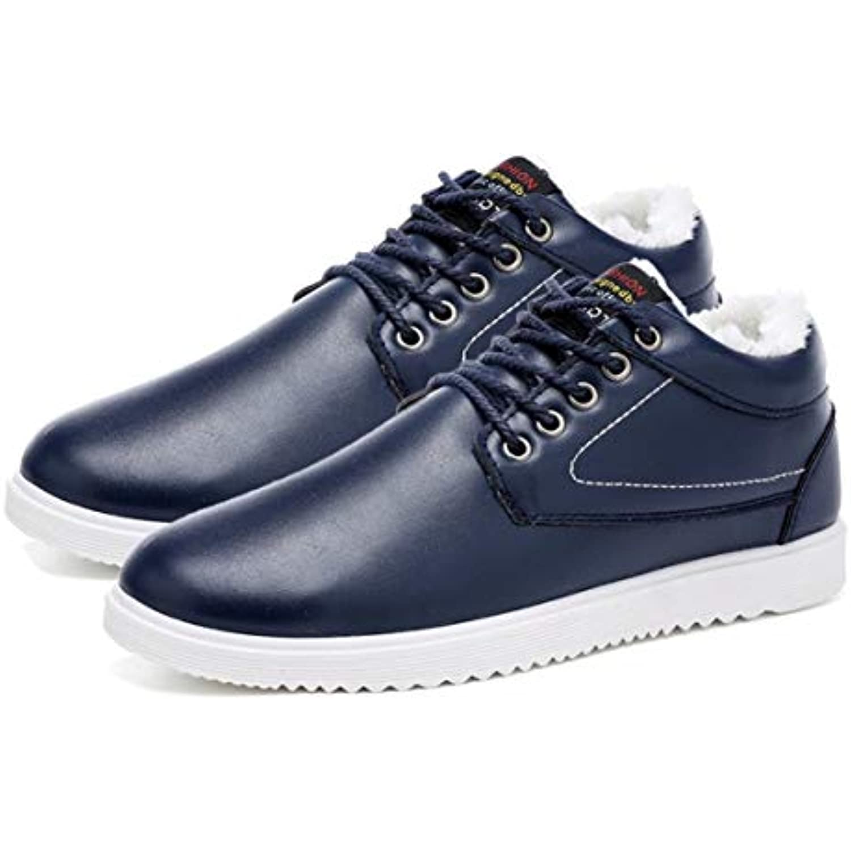 Mode Chaussures Chaussures Mode Tendance Hommes Chaussures Plus Velours Hiver Chaussures Chaudes Semelle Antid eacute;rapante - B07JBQXN8M - c4d630
