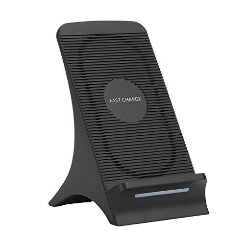 Tutoy Lüfter Wärmeableitung Qi Wireless Charging Stand Wireless Ladegerät Für Samsung Note 8/Note 7/S8/S8