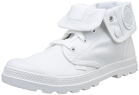 Palladium Baggy Low Lp F, Sneakers Hautes femme, Blanc (420 White), 38 EU