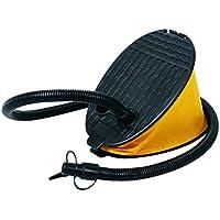 Jilong Bellows 2L foot pump bellows air pump with 2 adaptors air nozzles attachments for inflatable items such as air mattress air bed pool etc.
