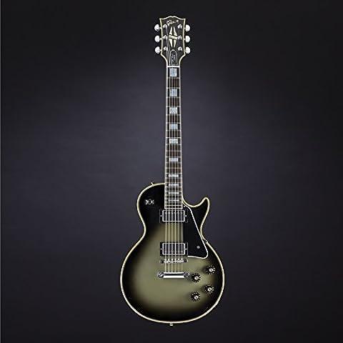 1968 Les Paul Custom Reissue Aged Silverburst #050798