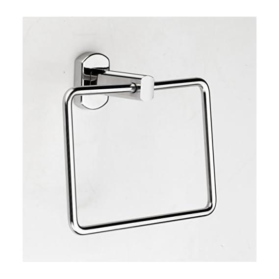 Anikaa -Towel Ring, Bathroom Towel Holder - Stainless Steel Towel / Napkin Ring