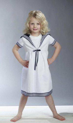 Matrosenkleid für Kinder klassischer Stil von Modas Größe (Matrose Kostüm Mädchen Kleinkind)