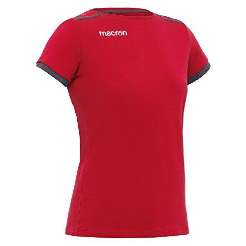 T-shirt femme Macron Violin rouge