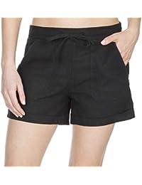 1c5d61870348 Metzuyan Ladies Linen Shorts with Pockets - Summer Beach Hot Pants