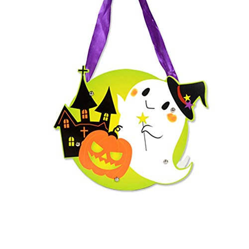 (Halloween Deko Grusel Dekoration Set Halloween DIY Partyzubehör Tasche Ghost 1 Pack für Halloweendeko Make-up-Party Halloween Dekoration)