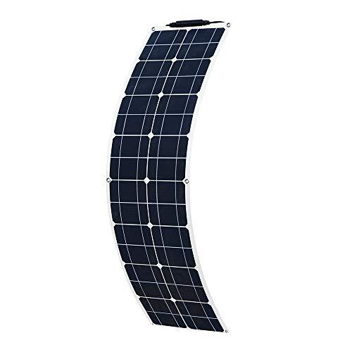 YUANFENGPOWER 50W 12v Flexibles Solarpanel Solarmodul aus einkristallinem Silizium für Boot Auto Wohnmobil Yacht 12v Batterieladegerät (50)