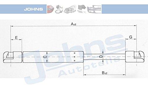 Johns 60 71 95-92 Gasfeder, Koffer-/Laderaum