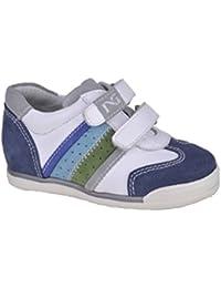 Nero Giardini Junior Sneaker Primi Passi Bambino in Pelle Camoscio P218330M 414cf26a686