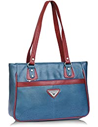 Fantosy Blue And Maroon Women Shoulder Bag (blue And Maroon) (FNb-771)