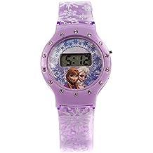 Disney 755411 - Frozen Orologio LCD con Strass Su Blister, 8 x 3 x 27 cm