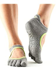 Toesox Full Toe Bellarina - Calcetines de Yoga Unisex adulto