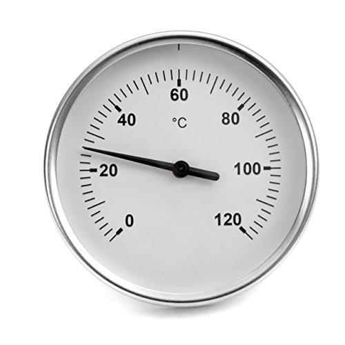 Lantelme 5728 carne affumicata termometro. Thermo metri analogica e seghetto alternativo - Prosciutto Affumicato