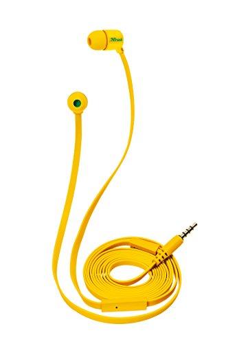 Auriculares de botón amarillos - Trust