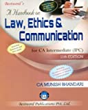 A Handbook on Law, Ethics and Communication for CA(IPCC)