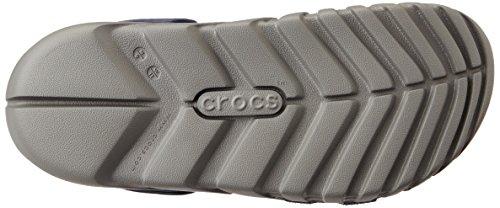 Crocs Duet Sport Max, Sabots - Mixte adulte Navy/Smoke