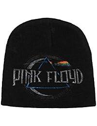 Pink Floyd Bonnet Cap Dark Side Of The Moon Album Logo officiel nouveau Noir