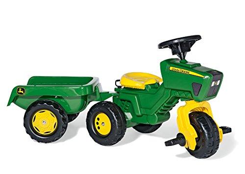 rolly toys 052769 - Triciclo en forma de tractor John Deere con sonido
