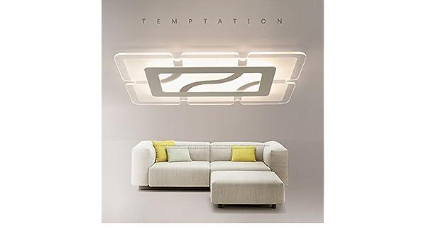 Plafoniere Led Moderne Design : Lilamp modern living led deckenleuchten bündige montage