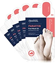 Mediheal Paraffin Foot Mask - For Dry, Rough Feet Cracked Heels 5pairs