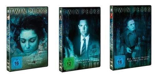Komplette Twin-set (Twin Peaks Season 1 + 2.1 + 2.2 - die komplette Serie im Set - Deutsche Originalware - [10 DVDs])