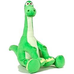 """EL viaje de Arlo (The Good Dinosaur) - Peluche de Arlo, dinosaurio verde de la película 13""""/34cm - Calidad velboa (dinot4)"""