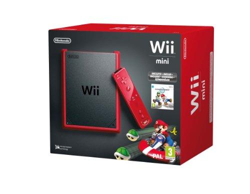 Nintendo Wii-Konsole mini, Rot + Mario Kart-Limited Edition (Mario Kart Wii Mini)