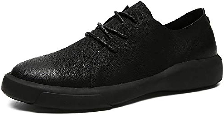 Xiaojuan-scarpe, Oxford Casual da Uomo Casual Retro Fashion Wipe Coloree Round Toe Lace Up Scarpe Formali,Scarpe... | Vinto altamente stimato e ampiamente fidato in patria e all'estero  | Gentiluomo/Signora Scarpa