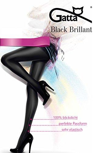 - 41OH22JbXOL - Gatta Black Brillant – blickdichte, topmodisch glänzende Strumpfhose