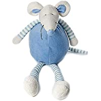 Mousehouse Gifts Bebé infante recién nacido azul Ratón de peluche ...