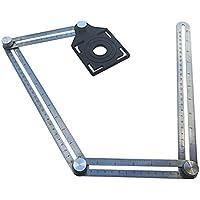 Modelos de medición multifuncionales práctica de cuatro lados-Regla de acero Angleizer Multi-ángulo inoxidable Regla