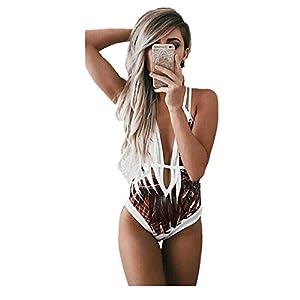 Beautyjourney Costume Bagno Trikini Costume Brasiliana Donna Costume da Bagno Donna Intero Brasiliana Costume da Bagno… 17 spesavip