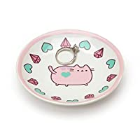 Pusheen Our Name Is Mud Pink Ring Dish, Multi-Colour