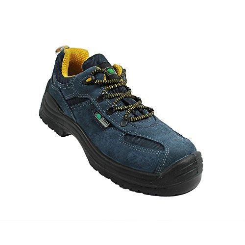 Siili chaussures de sécurité berufsschuhe businessschuhe s1P sRC chaussures de trekking-bleu Bleu - Bleu