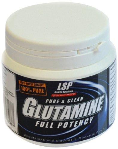 LSP L-Glutamine Powder, 1er Pack (1 x 250 g)