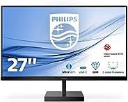 "Monitor Philips 276C8 - Monitor de 27"" QHD (2560 x 1440, 75 Hz, 4 ms, FreeSync, MegaInfinityDCR, HDR 10,"