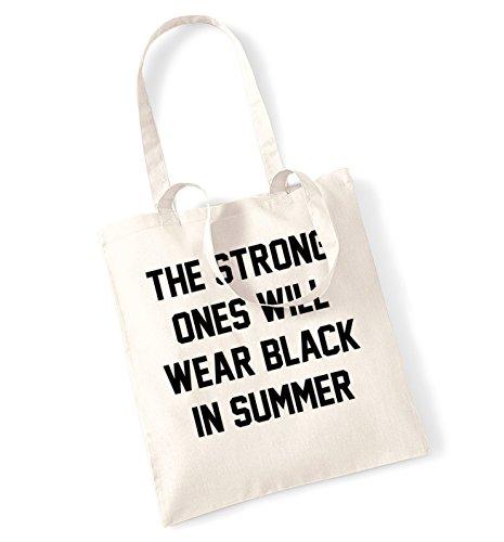 Il forte I Will Abbigliamento Estivo, Nero, in borsa Natural