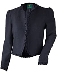 316439aa86 h.moser Trachtenjacke Damen Dirndljacke Walk Jacke Edwina in schwarz -  festlich passend zu jedem Dirndl, Lederhose oder…