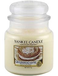Yankee Candle 1342586E Bougie senteur Maple Gingerbread Beige