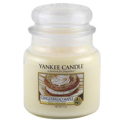 Yankee Candle 1342586E - Vela en vaso, aroma a Pan de jengibre con miel de arce