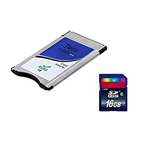 Tera® SD PCMCIA Adapter für Mercedes-Benz + 16GB Class 10 SDHC Karte 2in1 Set Packet