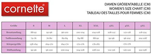 Cornette Chemise de Nuit Femme CR-654/01 Gris/Rose