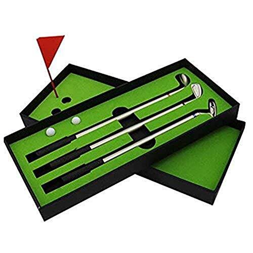 Mini Golf Club Putter Kugelschreiber Golfer Geschenkbox