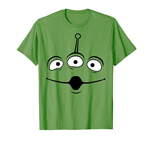 Disney Pixar Toy Story Alien Face Halloween Graphic T-Shirt